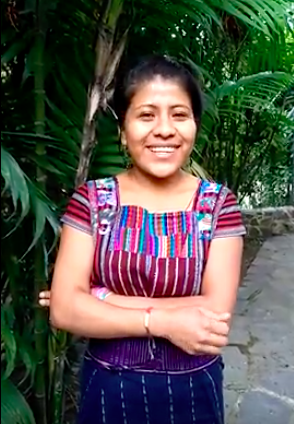 Meet Brenda Leticia, our first farm employee!